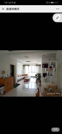 (山北)东升花苑(花园)3室2厅1卫136.76m²简单装修